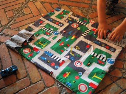 Spielteppich+ Garage